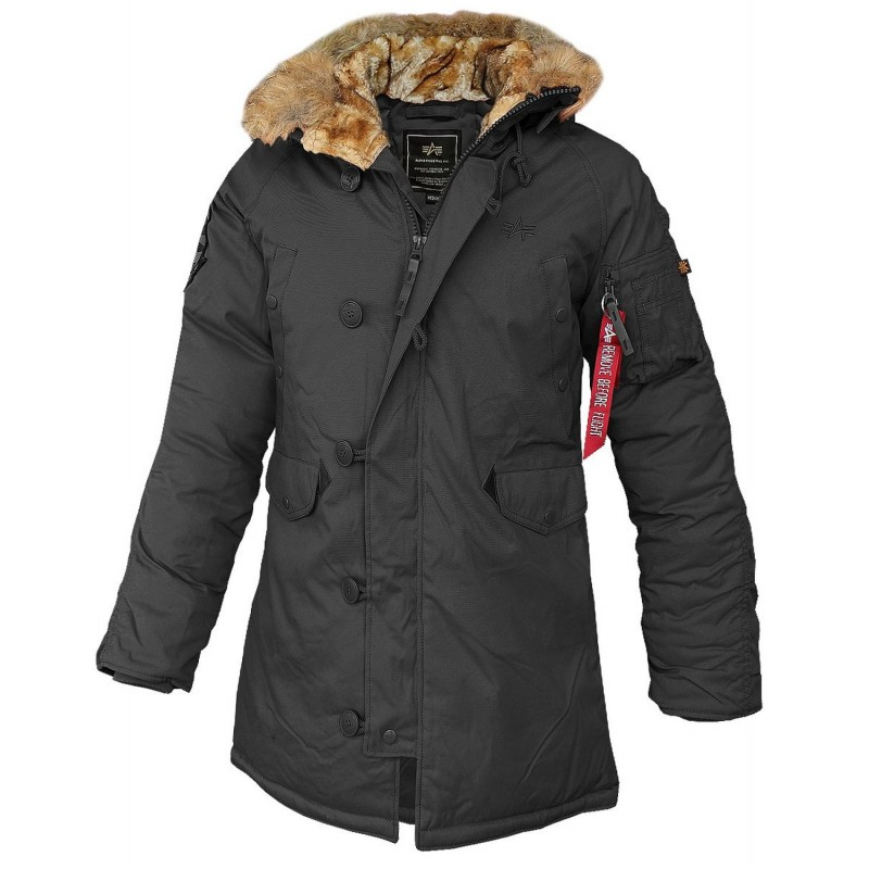 alpha industries explorer women winterjacke black 219 90. Black Bedroom Furniture Sets. Home Design Ideas