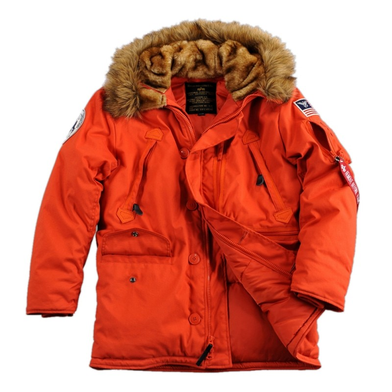 alpha industries polar winterjacke rot 239 00. Black Bedroom Furniture Sets. Home Design Ideas