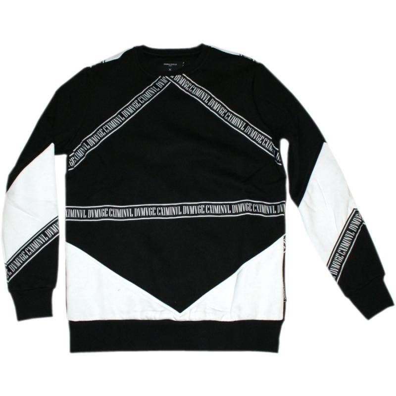 criminal damage sweater downtown black sale 64 90. Black Bedroom Furniture Sets. Home Design Ideas