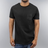 Just Rhyse Quilted T-Shirt Black