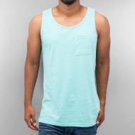 Just Rhyse Breast Pocket Tank Top Blue