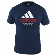 Adidas Community Boxing T-Shirt vividblue/white