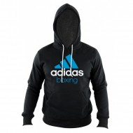 Adidas Community Hoodie Boxing black/solarblue