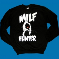 Al Gear Milfhunter Sweater schwarz