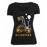 Alligatoah - Triebwerk Girlie Top schwarz