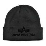 Alpha Industries 3D Beanie black