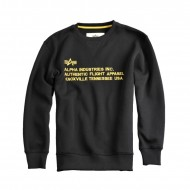 Alpha Industries - AFA Crewneck black