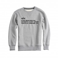 Alpha Industries - AFA Crewneck grey heather