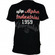Alpha Industries - Alpha Industries T-Shirt schwarz