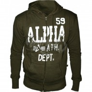Alpha Industries Ath. Dept. Jacket oliv