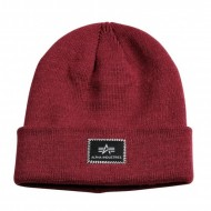 Alpha Industries Beanie X-Fit burgundy