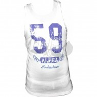Alpha Industries Big 59 Tank weiss