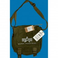 Alpha Industries  Big A Canvas Utility Bag oliv