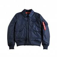 Alpha Industries Bomberjacke CWU VF TT rep. blue