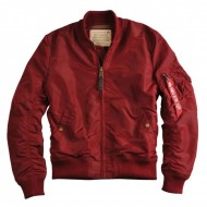 Alpha Industries Bomberjacke MA-1 TT burgundy