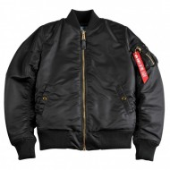Alpha Industries Bomberjacke MA-1 VF PM schwarz