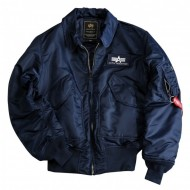 Alpha Industries - CWU 45 Bomberjacke rep. blue