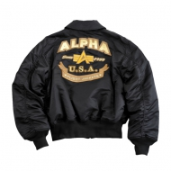 Alpha Industries CWU Custom Jacke schwarz