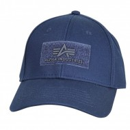 Alpha Industries Cap Velcro rep. blue
