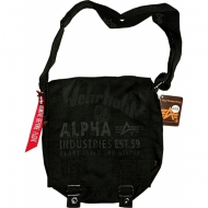 Alpha Industries Cargo Oxford Utility Bag schwarz