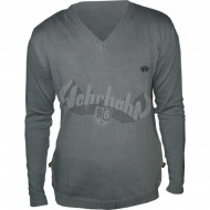 Alpha Industries - Classic V Neck Sweater grey