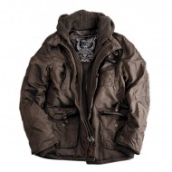 Alpha Industries Cobbs II Jacke brown