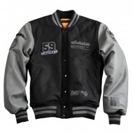 Alpha Industries College Jacke Varsity Black