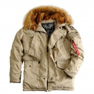 Alpha Industries Explorer Jacke khaki