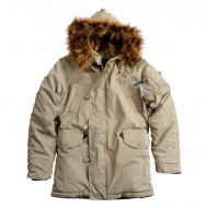 Alpha Industries Explorer Kapuzenparka Woman (Khaki)