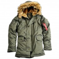 Alpha Industries Explorer Winterjacke dark green