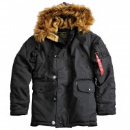 Alpha Industries Explorer Winterjacke schwarz