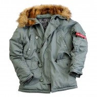 Alpha Industries Explorer Winterjacke steelgreen