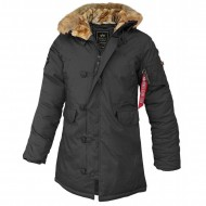 Alpha Industries Explorer Women Winterjacke black