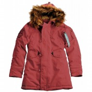Alpha Industries - Explorer Women Winterjacke burgundy