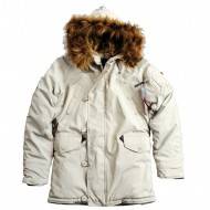 Alpha Industries - Explorer Women Winterjacke offwhite