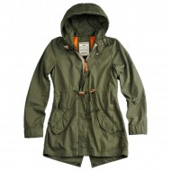 Alpha Industries Field Jacket Light Weight Fishtail Woman...