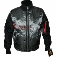 Alpha Industries Flight Deck Jacket black/gunmetal
