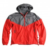 Alpha Industries Helix II Windrunner red/blackgrey