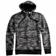 Alpha Industries Hoodie Foam Print black camo