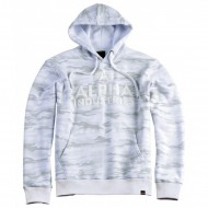 Alpha Industries Hoodie Foam Print white camo
