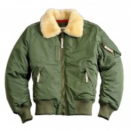 Alpha Industries - Injector III Fliegerjacke sage-green