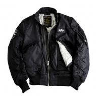 Alpha Industries Bomberjacke Engine schwarz