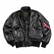 Alpha Industries Jacke Engine FL schwarz/grau