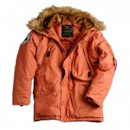Alpha Industries Jacke Polar Burned Orange