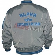 Alpha Industries Jacke Shooter silbergrau