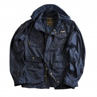 Alpha Industries Jacke Unit navy