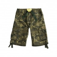 Alpha Industries Jet Short olive camo