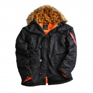 Alpha Industries Kapuzenparka N3B VF 59 Black