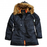 Alpha Industries Kapuzenparka N3B VF 59 Woman (Rep. Blue)