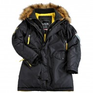 Alpha Industries Kapuzenparka PPS N3B Woman (black)